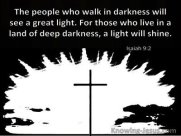 From darkness to light-Isaiah 9-2